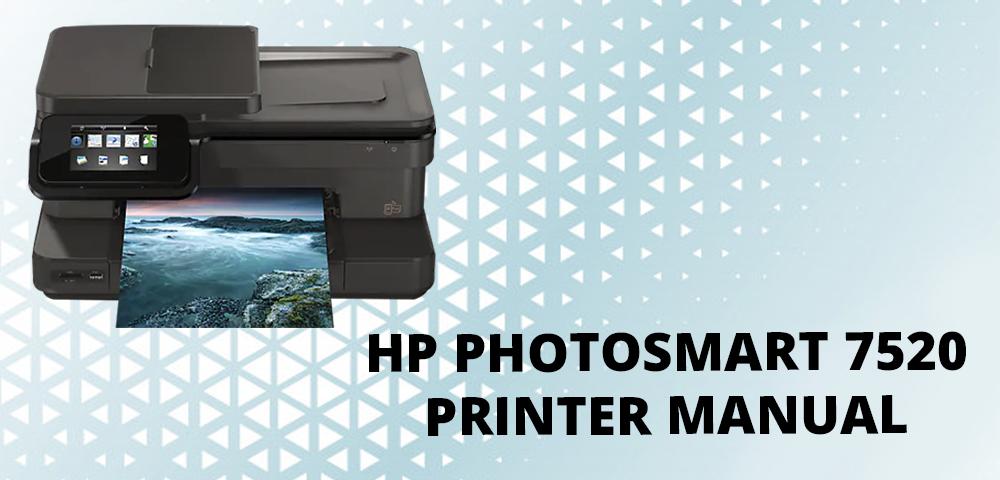 Troubleshooting HP Photosmart 7520 Printer Problems